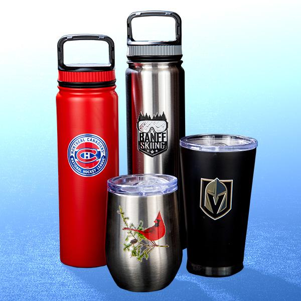 Custom Beer Glasses, Wine Glasses and Stainless Steel