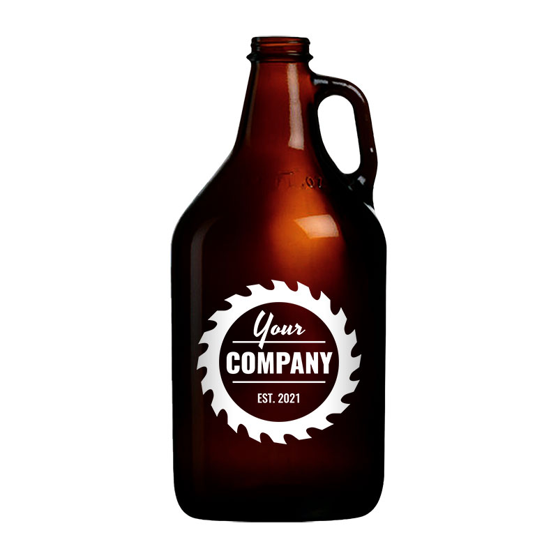 """Featured image for """"64 oz Amber Growler"""""""
